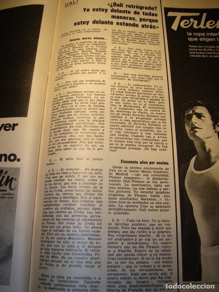 Coleccionismo de Revista Gaceta Ilustrada: GACETA ILUSTRADA nº 685 Noviembre 1969 - SALVADOR DALÍ - COCÓ CHANEL (ver fotos) - Foto 11 - 70442845