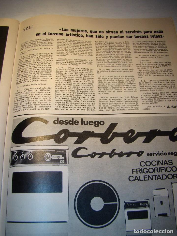 Coleccionismo de Revista Gaceta Ilustrada: GACETA ILUSTRADA nº 685 Noviembre 1969 - SALVADOR DALÍ - COCÓ CHANEL (ver fotos) - Foto 12 - 70442845