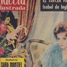Coleccionismo de Revista Gaceta Ilustrada: REVISTA GACETA ILUSTRADA Nº 177 27 FEBRERO 1960 AMPLIO REPORTAJE MUCHAS FOTOGRAFIAS SARA MONTIEL . Lote 77323845