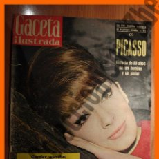 Coleccionismo de Revista Gaceta Ilustrada: GACETA ILUSTRADA Nº 275 - 13 ENERO 1962 - PICASSO. Lote 77348365