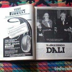 Coleccionismo de Revista Gaceta Ilustrada: GACETA ILUSTRADA / SALVADOR DALI DOCUMENTO / MIGUEL RIOS / JUAN PABLO II. Lote 81999848