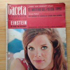 Coleccionismo de Revista Gaceta Ilustrada: GACETA ILUSTRADA Nº 456-1965 - ORIANA FALLACI ENTREVISTA A AVA GARDNER-SAMANTHA EGGAR-COCA COLA-KAS. Lote 86505428