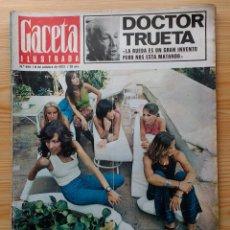 Coleccionismo de Revista Gaceta Ilustrada: GACETA ILUSTRADA Nº 835-1972 - LA MATANZA DE MUNICH - PUBLICIDAD SCHWEPPES - DKW MEVOSA. Lote 86505908