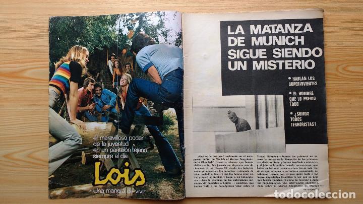 Coleccionismo de Revista Gaceta Ilustrada: GACETA ILUSTRADA Nº 835-1972 - LA MATANZA DE MUNICH - PUBLICIDAD SCHWEPPES - DKW MEVOSA - Foto 2 - 86505908