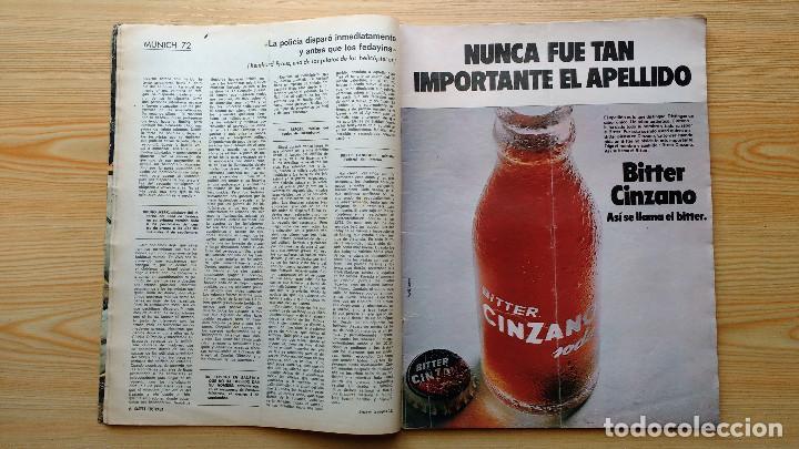 Coleccionismo de Revista Gaceta Ilustrada: GACETA ILUSTRADA Nº 835-1972 - LA MATANZA DE MUNICH - PUBLICIDAD SCHWEPPES - DKW MEVOSA - Foto 3 - 86505908