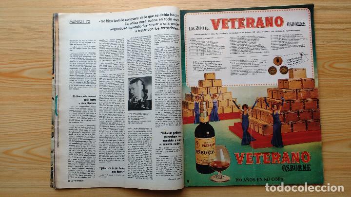 Coleccionismo de Revista Gaceta Ilustrada: GACETA ILUSTRADA Nº 835-1972 - LA MATANZA DE MUNICH - PUBLICIDAD SCHWEPPES - DKW MEVOSA - Foto 5 - 86505908