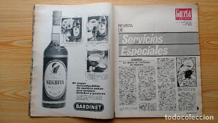 Coleccionismo de Revista Gaceta Ilustrada: GACETA ILUSTRADA Nº 835-1972 - LA MATANZA DE MUNICH - PUBLICIDAD SCHWEPPES - DKW MEVOSA - Foto 8 - 86505908