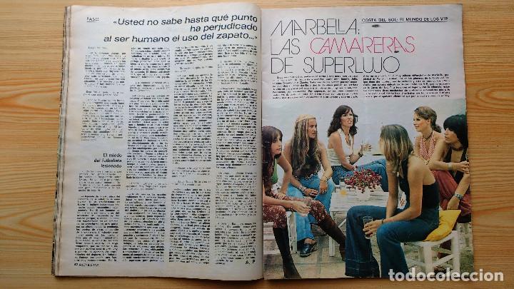 Coleccionismo de Revista Gaceta Ilustrada: GACETA ILUSTRADA Nº 835-1972 - LA MATANZA DE MUNICH - PUBLICIDAD SCHWEPPES - DKW MEVOSA - Foto 10 - 86505908