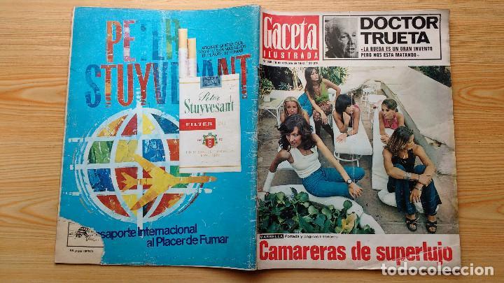 Coleccionismo de Revista Gaceta Ilustrada: GACETA ILUSTRADA Nº 835-1972 - LA MATANZA DE MUNICH - PUBLICIDAD SCHWEPPES - DKW MEVOSA - Foto 15 - 86505908