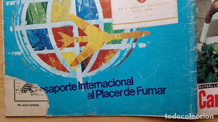 Coleccionismo de Revista Gaceta Ilustrada: GACETA ILUSTRADA Nº 835-1972 - LA MATANZA DE MUNICH - PUBLICIDAD SCHWEPPES - DKW MEVOSA - Foto 16 - 86505908