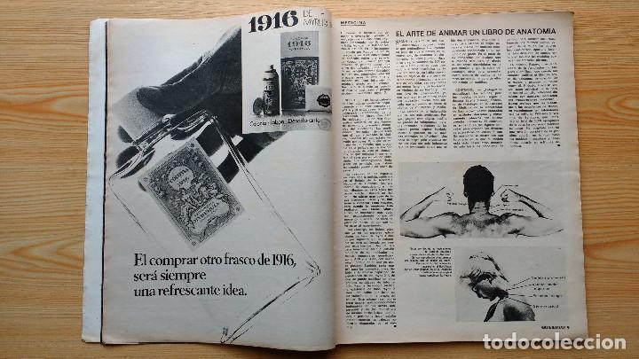 Coleccionismo de Revista Gaceta Ilustrada: GACETA ILUSTRADA Nº 838-1972 - IRVING EL CASO HUGHES - FIRESTONE - SEAT 60 - AUSTIN VICTORIA-FYNLEY - Foto 3 - 86506096