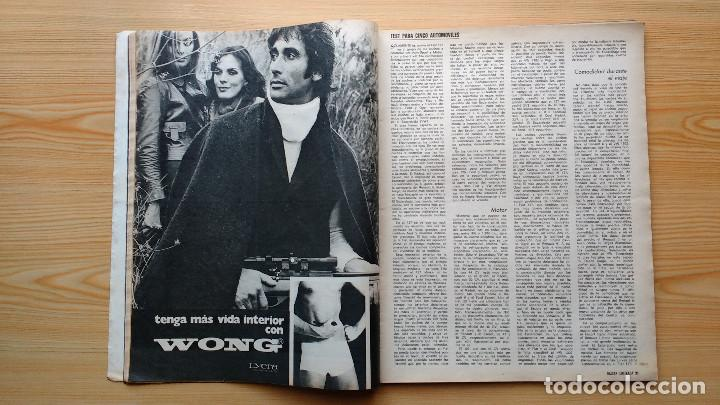 Coleccionismo de Revista Gaceta Ilustrada: GACETA ILUSTRADA Nº 838-1972 - IRVING EL CASO HUGHES - FIRESTONE - SEAT 60 - AUSTIN VICTORIA-FYNLEY - Foto 5 - 86506096