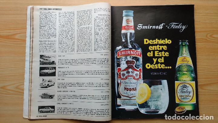 Coleccionismo de Revista Gaceta Ilustrada: GACETA ILUSTRADA Nº 838-1972 - IRVING EL CASO HUGHES - FIRESTONE - SEAT 60 - AUSTIN VICTORIA-FYNLEY - Foto 6 - 86506096