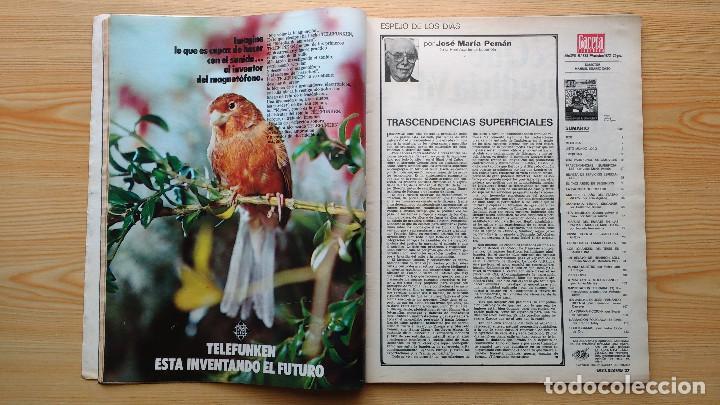 Coleccionismo de Revista Gaceta Ilustrada: GACETA ILUSTRADA Nº 838-1972 - IRVING EL CASO HUGHES - FIRESTONE - SEAT 60 - AUSTIN VICTORIA-FYNLEY - Foto 7 - 86506096