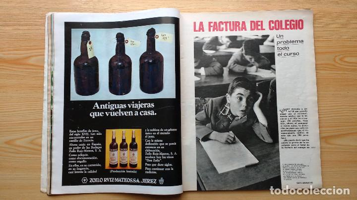 Coleccionismo de Revista Gaceta Ilustrada: GACETA ILUSTRADA Nº 838-1972 - IRVING EL CASO HUGHES - FIRESTONE - SEAT 60 - AUSTIN VICTORIA-FYNLEY - Foto 11 - 86506096