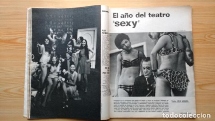 Coleccionismo de Revista Gaceta Ilustrada: GACETA ILUSTRADA Nº 838-1972 - IRVING EL CASO HUGHES - FIRESTONE - SEAT 60 - AUSTIN VICTORIA-FYNLEY - Foto 12 - 86506096