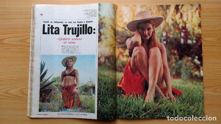 Coleccionismo de Revista Gaceta Ilustrada: GACETA ILUSTRADA Nº 838-1972 - IRVING EL CASO HUGHES - FIRESTONE - SEAT 60 - AUSTIN VICTORIA-FYNLEY - Foto 13 - 86506096