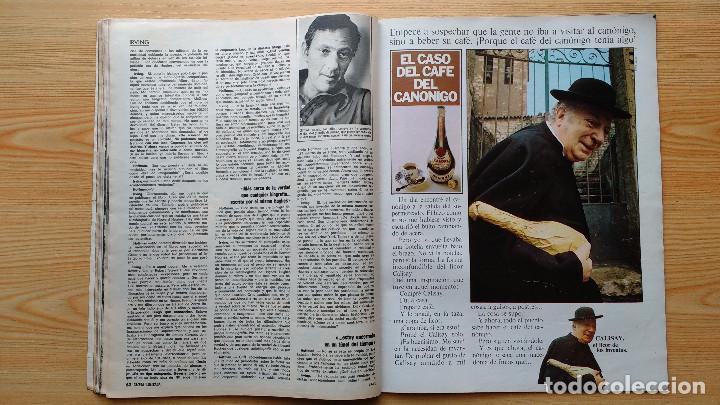 Coleccionismo de Revista Gaceta Ilustrada: GACETA ILUSTRADA Nº 838-1972 - IRVING EL CASO HUGHES - FIRESTONE - SEAT 60 - AUSTIN VICTORIA-FYNLEY - Foto 15 - 86506096