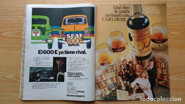 Coleccionismo de Revista Gaceta Ilustrada: GACETA ILUSTRADA Nº 838-1972 - IRVING EL CASO HUGHES - FIRESTONE - SEAT 60 - AUSTIN VICTORIA-FYNLEY - Foto 16 - 86506096