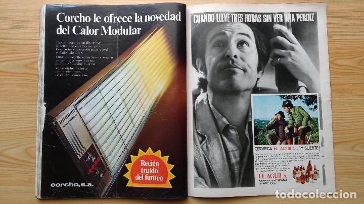 Coleccionismo de Revista Gaceta Ilustrada: GACETA ILUSTRADA Nº 838-1972 - IRVING EL CASO HUGHES - FIRESTONE - SEAT 60 - AUSTIN VICTORIA-FYNLEY - Foto 17 - 86506096