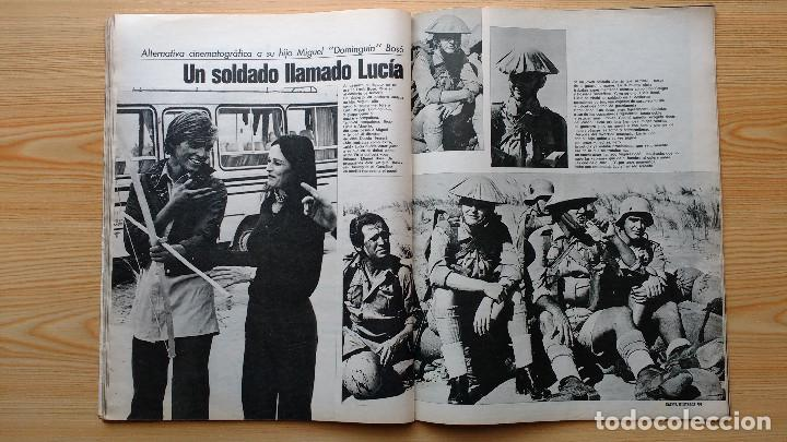 Coleccionismo de Revista Gaceta Ilustrada: GACETA ILUSTRADA Nº 838-1972 - IRVING EL CASO HUGHES - FIRESTONE - SEAT 60 - AUSTIN VICTORIA-FYNLEY - Foto 19 - 86506096