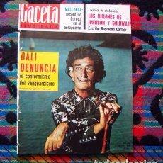 Coleccionismo de Revista Gaceta Ilustrada: REVISTA GACETA ILUSTRADA / SALVADOR DALI, JUDY GARLAND, ANNIE GIRARDOT, VITTORIO GASSMAN / 1964. Lote 95875551