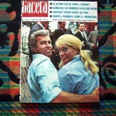 Coleccionismo de Revista Gaceta Ilustrada: REVISTA GACETA ILUSTRADA / ANITA EKBERG / SARA MONTIEL / ANTHONY QUINN / 1964. Lote 95880999