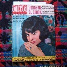 Coleccionismo de Revista Gaceta Ilustrada: REVISTA GACETA ILUSTRADA / ROSSANA SCHIAFFINO, MARI TRINI, MISS MUNDO, WORLD, CHURCHILL / 1965. Lote 96826771