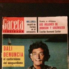 Coleccionismo de Revista Gaceta Ilustrada: GACETA ILUSTRADA Nº 414-1964-SALVADOR DALÍ. Lote 97167403