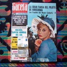 Coleccionismo de Revista Gaceta Ilustrada: REVISTA GACETA ILUSTRADA / SYLVIE VARTAN, JOHNNY HALLYDAY, MONTGOMERY CLIFT, ELKE SOMMER, MALAGA. Lote 97387643