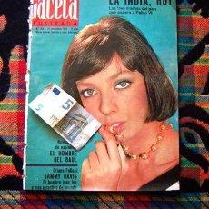 Coleccionismo de Revista Gaceta Ilustrada: GACETA ILUSTRADA / MARIE LAFORET, CARROLL BAKER, SAMMY DAVIS, MARIA CALLAS, JEAN HARLOW, 1964. Lote 97574791
