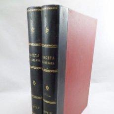 Collectionnisme de Magazine Gaceta Ilustrada: REVISTA GACETA ILUSTRADA 16 NÚMEROS DEL AÑO 1973 EN 2 TOMOS. Lote 97669579