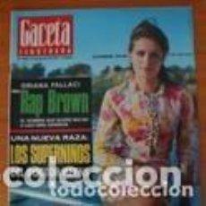 Coleccionismo de Revista Gaceta Ilustrada: REVISTA GACETA ILUSTRADA 568 1967 - CATHERINE SPAAK - RAP BROWN - RASPUTIN . Lote 97958935