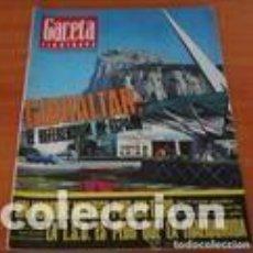 Coleccionismo de Revista Gaceta Ilustrada: GACETA ILUSTRADA Nº 570/1966~GIBRALTAR~ALAIN DELON~SENTA BERGER~TOROS MUERTE EN LA PLAZA~LSD . Lote 97959135