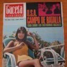 Coleccionismo de Revista Gaceta Ilustrada: REVISTA GACETA ILUSTRADA 566 AGOSTO 1967 - MITA MEDICI -KRUSCHEF - LIZ TAYLOR- BURTON . Lote 97960131
