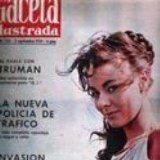Coleccionismo de Revista Gaceta Ilustrada: REVISTA GACETA ILUSTRADA - 152 ANN HEYWOOD . Lote 97960959