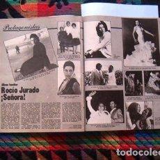 Coleccionismo de Revista Gaceta Ilustrada: GACETA ILUSTRADA / ROCIO JURADO, AFRICA PRAT, MICHELLE PHILLIPS, CULTURISMO, EL GRAPO, MISS ESPAÑA. Lote 97965243