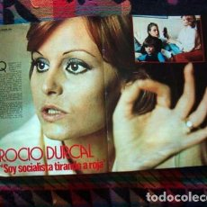 Coleccionismo de Revista Gaceta Ilustrada: REVISTA GACETA ILUSTRADA 1977 / ROCIO DURCAL. Lote 98044391