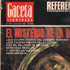Coleccionismo de Revista Gaceta Ilustrada: GACETA ILUSTRADA. Nº 530. 3 DICIEMBRE 1966. (B/60). Lote 98774851