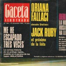 Coleccionismo de Revista Gaceta Ilustrada: GACETA ILUSTRADA. Nº 534. 31 DICIEMBRE 1966. (B/60). Lote 98775027