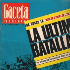 Coleccionismo de Revista Gaceta Ilustrada: GACETA ILUSTRADA. Nº 531. 10 DICIEMBRE 1966. (B/60). Lote 98775099