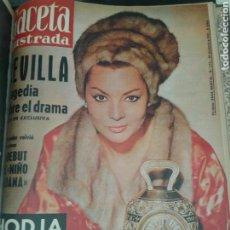 Coleccionismo de Revista Gaceta Ilustrada: LA GACETA ILUSTRADA.ENCUADERNADO EN 3 TOMOS. COMPLETO. AÑO 1961.. Lote 98852627