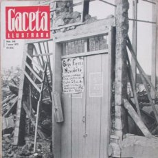 Collectionnisme de Magazine Gaceta Ilustrada: GACETA ILUSTRADA 848 1973 TERREMOTO MANAGUA, PIA FRIDHOF, MICHEL POLNAREFF, GLORIA HENDRY, DYLAN. Lote 99963199