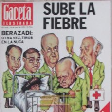 Collectionnisme de Magazine Gaceta Ilustrada: GACETA ILUSTRADA 1019 1976 RADIO LIBERTY, JUAN AJURIAGUERRA, DUQUESA DE MEDINASIDONIA. Lote 101351195