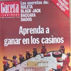 Collectionnisme de Magazine Gaceta Ilustrada: GACETA ILUSTRADA 1068 1977 RITA HAYWORTH, ASESINATO ATOCHA, NURIA BELTRAN, ANGOLA, SAHARA, SITGES. Lote 101351995