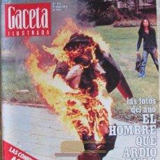Collectionnisme de Magazine Gaceta Ilustrada: GACETA ILUSTRADA 1027 1976 NASTASSJA KINSKI, CHICAS DE STRIP-TEASE, SALAMANCA, EDWARD KENNEDY. Lote 101428151