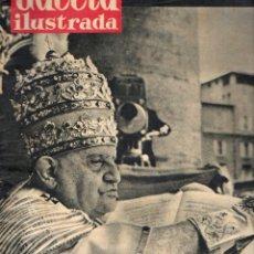 Coleccionismo de Revista Gaceta Ilustrada: GACETA ILUSTRADA 8 NOVIEMBRE 1958 - LA CORONACIÓN DEL PAPA JUAN XXIII. Lote 102482275
