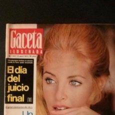 Coleccionismo de Revista Gaceta Ilustrada: GACETA ILUSTRADA 757-1971-SHARON TATE-CHARLES MANSON-SYDNE ROME-CONCORDE-SEAT 124 SPORT-COCA-COLA. Lote 103162207