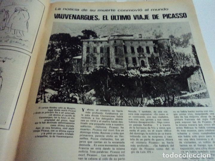 Coleccionismo de Revista Gaceta Ilustrada: VIDA Y LA OBRA DE PICASSO. LA GACETA ILUSTRADA Nº EXTRA. - Foto 5 - 103394655