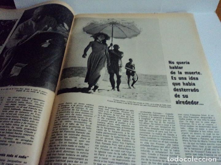 Coleccionismo de Revista Gaceta Ilustrada: VIDA Y LA OBRA DE PICASSO. LA GACETA ILUSTRADA Nº EXTRA. - Foto 6 - 103394655